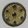 Frankish / Pair of Filigree Disk Brooches / First half 7th c.