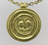 Byzantine / Necklace with Medallion and Amulet / Medallion: first half 5th c.; amulet: 2nd c.