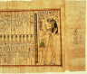 Egyptian / Section from the 'Book of the Dead' of Nany / ca. 1040-945 B.C.E.