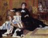 Pierre-Auguste Renoir / Madame Georges Charpentier (Marguerite-Louise Lemonnier, 1848-1904) and Her Children, Georgette-Berthe (1872-1945) and Paul-Émile-Charles (1875-1895) / 1878