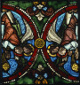 French / Panel with Censing Angels / ca. 1170-1180