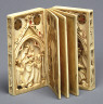 Northern French (carving)/German / Writing Tablet: Booklet with Scenes of the Passion / ca. 1300-1320