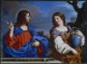 Guercino / Christ and the Woman of Samaria / 1647
