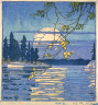 Walter J. Phillips / The Golden Hour / 1918