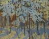 Tom Thomson / Snow-covered Trees / c. 1914-1915