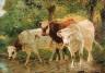 Horatio Walker / Cows / c. 1915