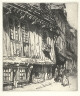 C.H. White / The Old Manor, Lisieux / 1910