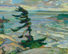 F.H. Varley / Stormy Weather, Georgian Bay / 1921