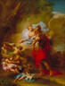 Jean (le jeune) Restout / Venus Presenting Arms to Aeneas / 1717