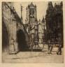 Dorothy Stevens / St. Nicola, Ghent / c. 1911-1912