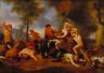 Charles Le Brun / Hercules Slaying the Centaurs / c. 1660