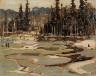 Tom Thomson / Portage, Ragged Lake / c. 1915-1916