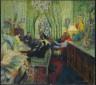 Édouard Vuillard / The Salon of Madame Aron / 1904, reworked in 1934