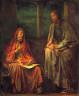 John La Farge / Visit of Nicodemus to Christ / 1880