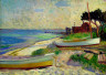 William Glackens / Beach Scene / before 1930