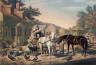 Copy after  Louis Maurer / Preparing for Market / 1856