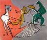 Louis Schanker / Aerial Act / 1940
