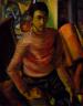 Malvin Gray Johnson / Self-Portrait / 1934