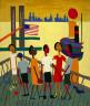 William H. Johnson / Ferry Boat Trip / ca. 1943-1944