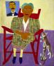 William H. Johnson / Mom and Dad / 1944