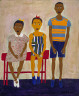 William H. Johnson / Three Little Children / 1944