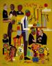 William H. Johnson / Dr. George Washington Carver / ca. 1945