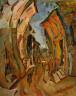 William H. Johnson / Street in Cagnes / ca. 1926-1929