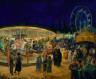 John Sloan / Travelling Carnival, Santa Fe / 1924
