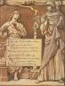 Elihu Vedder / (Illustration for Rubáiyát of Omar Khayyám) The Divorce of Reason / 1883-1884