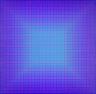 Julian Stanczak / Majestic (Red and Blue) / 1978