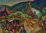 William Penhallow Henderson / Feast Day: San Juan Pueblo / ca. 1921