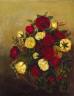 Robert S. Duncanson / Roses Still Life / ca. 1842-1848