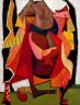 Hananiah Harari / Jacob Wrestling with the Angel / 1936