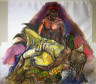 Luis Jimenez / Drawing for Southwest Pieta / 1983