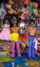 John Valadez / Two Vendors / 1989