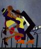 William H. Johnson / Jitterbugs (III) / ca. 1941