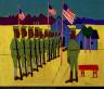 William H. Johnson / Soldiers Training / ca. 1942-1944