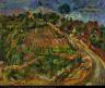 William H. Johnson / Landskab fra Kerteminde / ca. 1930-1932