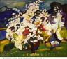 William H. Johnson / Mountain Blossoms, Volda / ca. 1936-1937