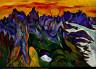 William H. Johnson / Midnight Sun, Lofoten / 1937