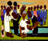 William H. Johnson / I Baptize Thee / ca. 1940