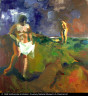 Elmer Bischoff / Two Bathers / 1960