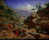 August Wenderoth / Miners in the Sierras / 1851-1852