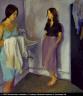 Raphael Soyer / Annunciation / 1980