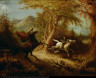 John Quidor / The Headless Horseman Pursuing Ichabod Crane / 1858