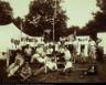 E. E. Dickinson / Group Portrait at a Patriotic Celebration / ca. 1915