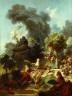 Jean-Honoré Fragonard / The Progress of Love (The Lover Crowned) / c. 1771-1773