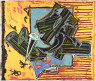 Frank Stella / La penna di hu / 1988