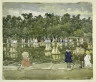Maurice Prendergast / Sailboat Pond, Central Park / ca. 1902