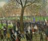 William J. Glackens / Parade, Washington Square / 1912